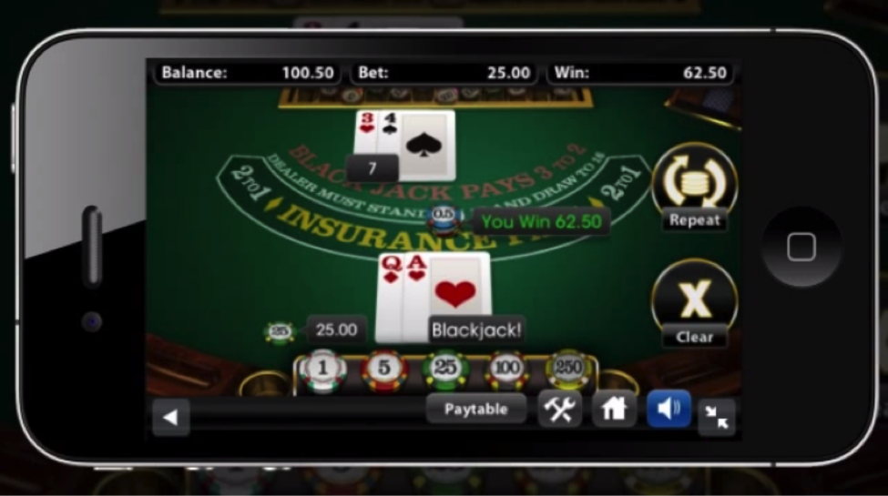 black jack online for money