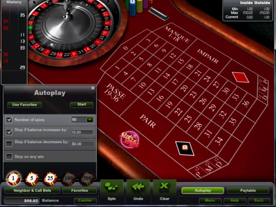 ruletka z kasynem online, aby grać za darmo