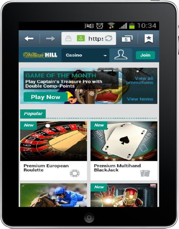 will hill casino mobile