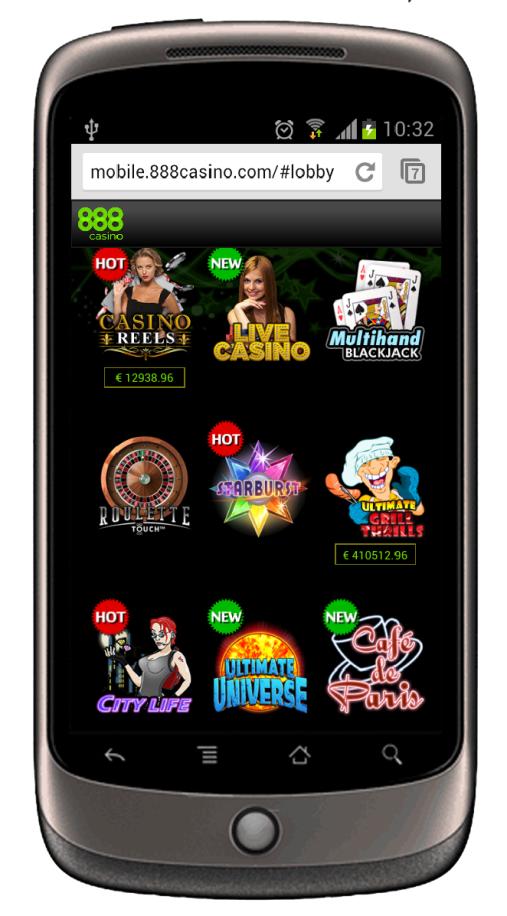 Mobile Casino Spiele